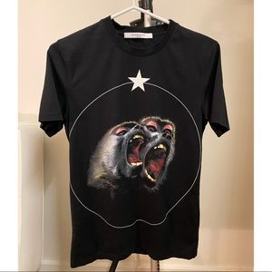 Givenchy Cuban-Fit Monkey Brothers T-Shirt, Black